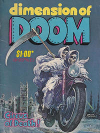 Cover Thumbnail for Dimension of Doom (Gredown, 1980 ? series)
