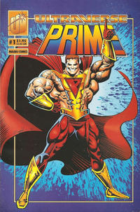 Cover Thumbnail for Prime (Malibu, 1993 series) #1 [Direct]