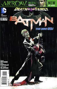 Cover Thumbnail for Batman (DC, 2011 series) #17 [Direct Sales]