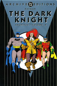 Cover Thumbnail for Batman: The Dark Knight Archives (DC, 1992 series) #8
