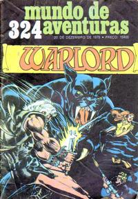 Cover Thumbnail for Mundo de Aventuras (Agência Portuguesa de Revistas, 1973 series) #324