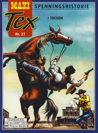 Cover Thumbnail for Maxi Tex (Hjemmet / Egmont, 2008 series) #27