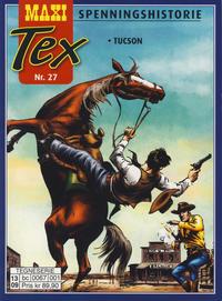 Cover Thumbnail for Maxi Tex (Hjemmet / Egmont, 2008 series) #27 - Tucson