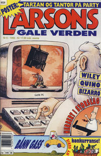 Cover Thumbnail for Larsons gale verden (Bladkompaniet / Schibsted, 1992 series) #6/1995