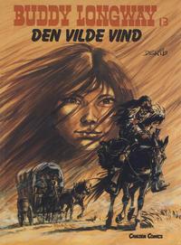 Cover Thumbnail for Buddy Longway (Forlaget Carlsen, 1977 series) #13 - Den vilde vind