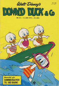 Cover Thumbnail for Donald Duck & Co (Hjemmet / Egmont, 1948 series) #25/1972