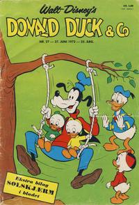 Cover Thumbnail for Donald Duck & Co (Hjemmet / Egmont, 1948 series) #27/1972