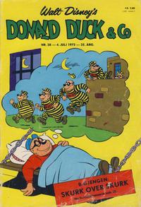 Cover Thumbnail for Donald Duck & Co (Hjemmet / Egmont, 1948 series) #28/1972