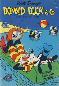Cover Thumbnail for Donald Duck & Co (Hjemmet / Egmont, 1948 series) #31/1972