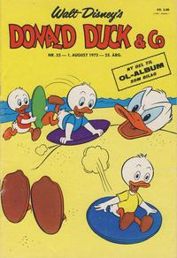 Cover Thumbnail for Donald Duck & Co (Hjemmet / Egmont, 1948 series) #32/1972
