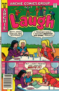 Cover Thumbnail for Laugh Comics (Archie, 1946 series) #365