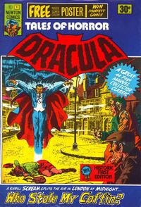 Cover Thumbnail for Tales of Horror Dracula (Newton Comics, 1975 series) #1