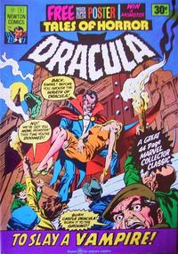 Cover Thumbnail for Tales of Horror Dracula (Newton Comics, 1975 series) #2