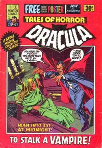 Cover Thumbnail for Tales of Horror Dracula (Newton Comics, 1975 series) #3