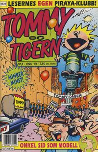 Cover Thumbnail for Tommy og Tigern (Bladkompaniet, 1989 series) #8/1995