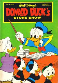 Cover Thumbnail for Donald Ducks Show (Hjemmet / Egmont, 1957 series) #[17] - Store show 1970