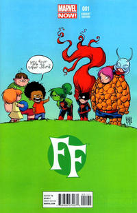 Cover Thumbnail for FF (Marvel, 2013 series) #1 [Variant Cover by Skottie Young]