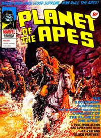 Cover Thumbnail for Planet of the Apes (Marvel UK, 1974 series) #70
