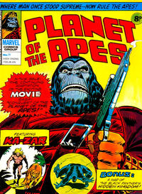 Cover Thumbnail for Planet of the Apes (Marvel UK, 1974 series) #71