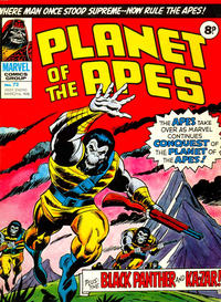 Cover Thumbnail for Planet of the Apes (Marvel UK, 1974 series) #72