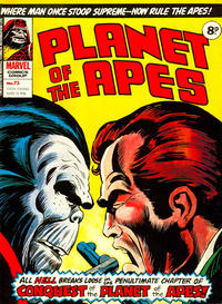 Cover Thumbnail for Planet of the Apes (Marvel UK, 1974 series) #73