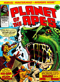 Cover Thumbnail for Planet of the Apes (Marvel UK, 1974 series) #74