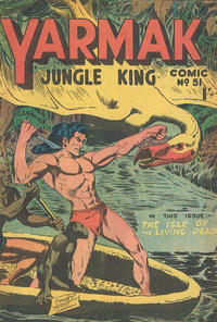 Cover Thumbnail for Yarmak Jungle King Comic (Young's Merchandising Company, 1949 series) #51