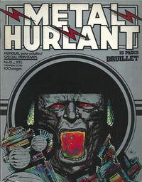 Cover Thumbnail for Métal Hurlant (Les Humanoïdes Associés, 1975 series) #15
