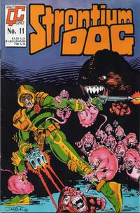 Cover Thumbnail for Strontium Dog (Fleetway/Quality, 1987 series) #11 [UK]