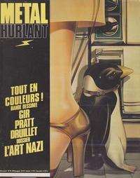 Cover for Métal Hurlant (Les Humanoïdes Associés, 1975 series) #51