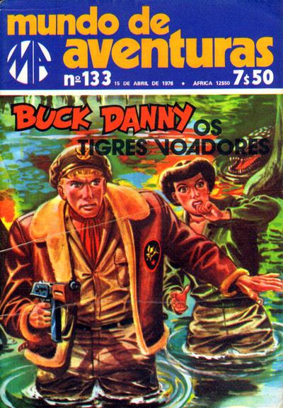 Cover for Mundo de Aventuras (Agência Portuguesa de Revistas, 1973 series) #133