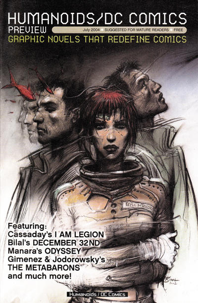 Cover for Humanoids/DC Comics Preview (DC, 2004 series) #1