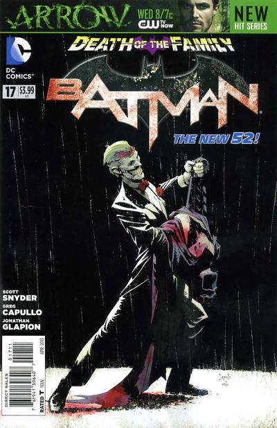 Cover for Batman (DC, 2011 series) #17 [Emerald City Comicon Cover]