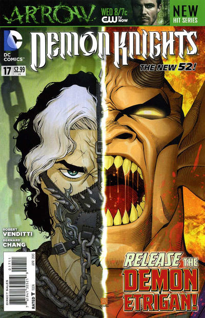 Cover for Demon Knights (DC, 2011 series) #17