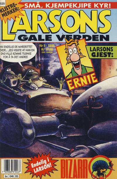 Cover for Larsons gale verden (Bladkompaniet / Schibsted, 1992 series) #5/1995