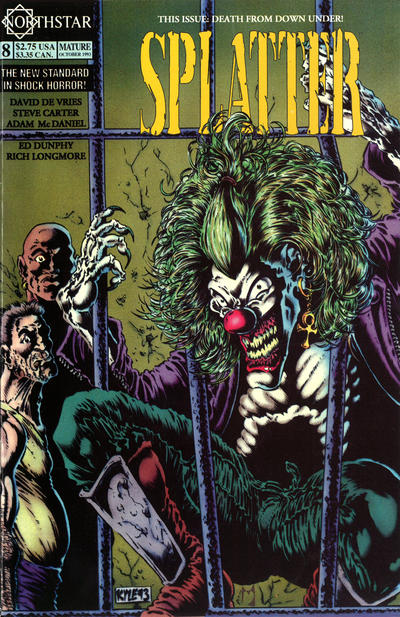 Cover for Splatter (Northstar, 1991 series) #8