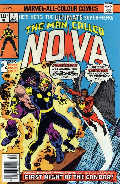Cover for Nova (Marvel, 1976 series) #2