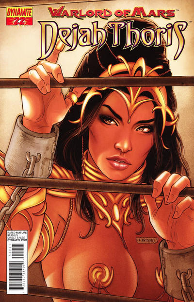 Cover for Warlord of Mars: Dejah Thoris (Dynamite Entertainment, 2011 series) #22 [Fabiano Neves Cover]