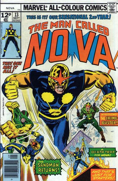 Cover for Nova (Marvel, 1976 series) #13 [35¢ edition]