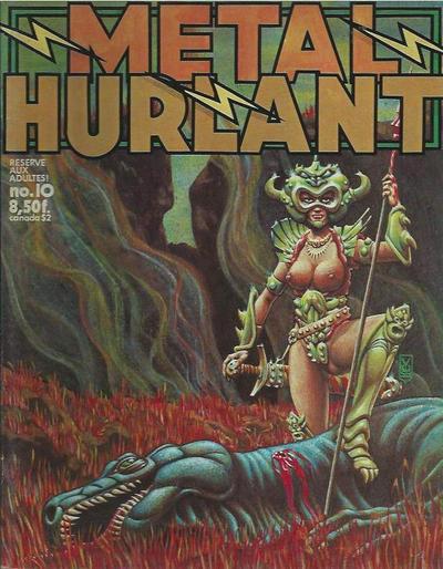 Cover for Métal Hurlant (Les Humanoïdes Associés, 1975 series) #10