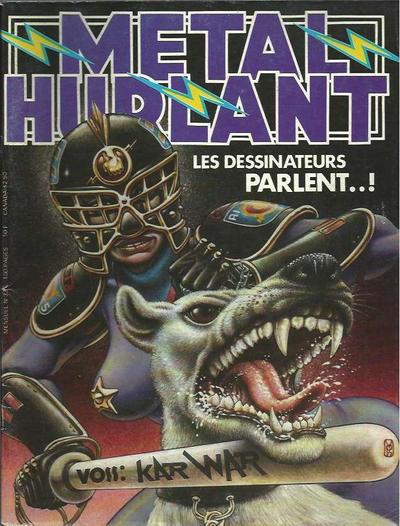 Cover for Métal Hurlant (Les Humanoïdes Associés, 1975 series) #33