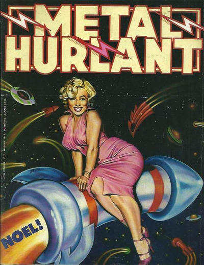 Cover for Métal Hurlant (Les Humanoïdes Associés, 1975 series) #36