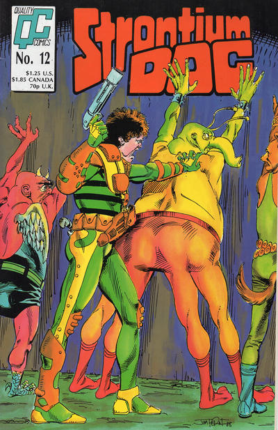 Cover for Strontium Dog (Fleetway/Quality, 1987 series) #12 [UK]