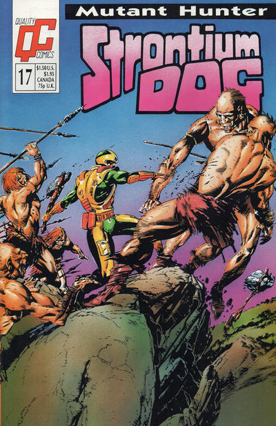 Cover for Strontium Dog (Fleetway/Quality, 1987 series) #17 [UK]