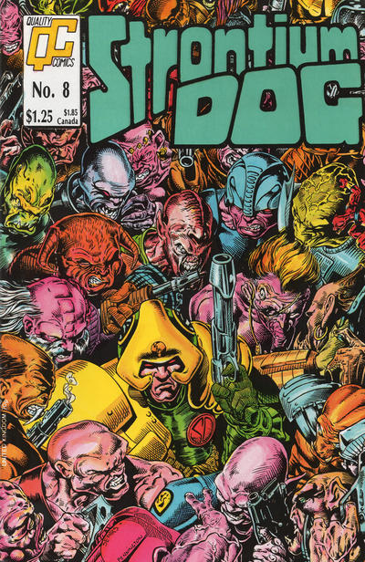 Cover for Strontium Dog (Fleetway/Quality, 1987 series) #8 [UK]