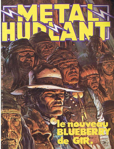 Cover for Métal Hurlant (Les Humanoïdes Associés, 1975 series) #38