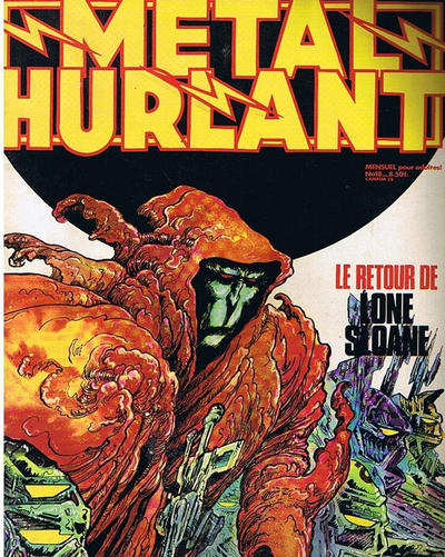 Cover for Métal Hurlant (Les Humanoïdes Associés, 1975 series) #18