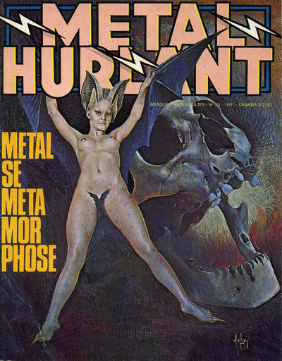 Cover for Métal Hurlant (Les Humanoïdes Associés, 1975 series) #25