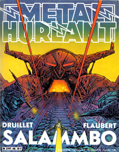 Cover for Métal Hurlant (Les Humanoïdes Associés, 1975 series) #48
