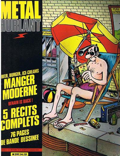 Cover for Métal Hurlant (Les Humanoïdes Associés, 1975 series) #54